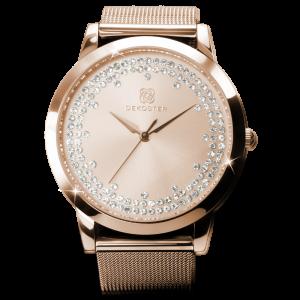 Armbanduhr Paris Crystal Rosé