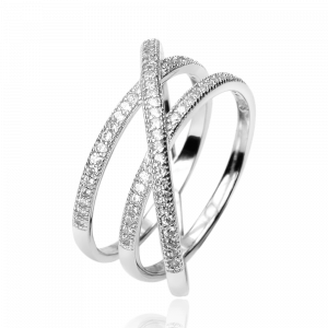 Ring Crystal White