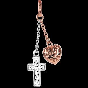 dkCollectors Heart - Cross Rosé