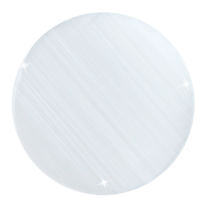 deCoin Plate Cat Eye White