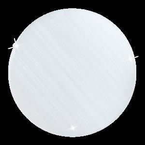 deCoin Plate Cat Eye White