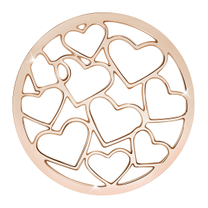 deCoin Ornament Heart Roségold