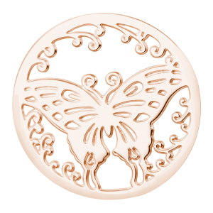 deCoin Ornament Butterfly Roségold