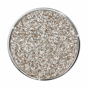 deCoins Inlay Glitzer Champagne