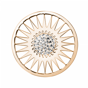 deCoins Inlay Ornament Sun Rosé