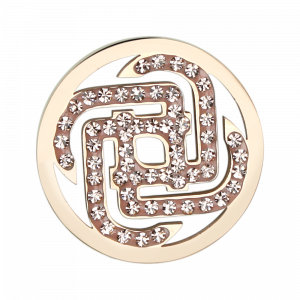 deCoins Inlay dekoster Power Small Rosé