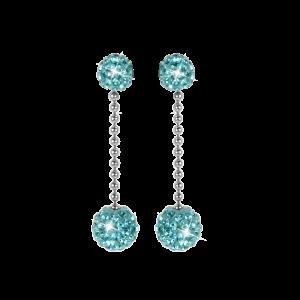 Glamour Earring aqua blue