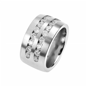 Ring CZirkon White