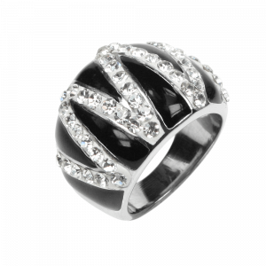 Ring Crystal Emaille