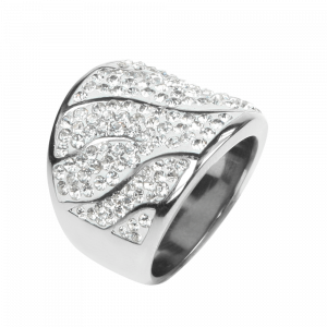 Ring Crystal White
