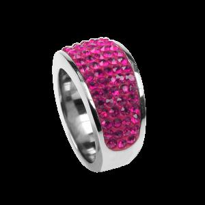 Ring Crystal Fuchsia
