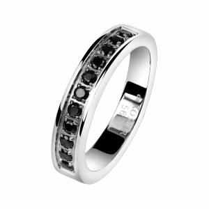 Ring Crystal Black