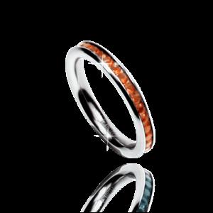 Ring CZirkon orange