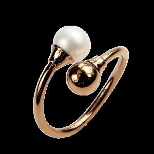 Ring Fortuna Pearl Rosé