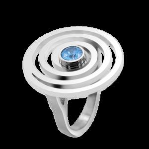 Ring Drop Sapphire