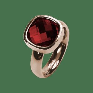 Ring Facettes Siam Rosé