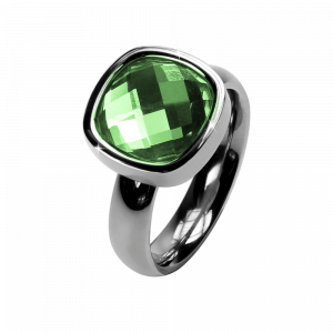 Ring Facettes Peridot