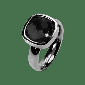 Ring Facettes Jet