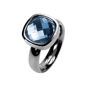Ring Facettes Sapphire
