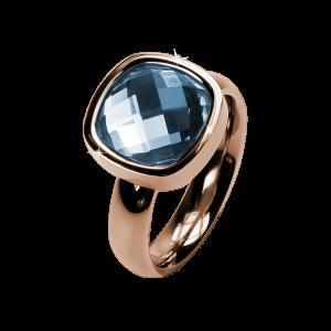 Ring Facettes Sapphire Rosé