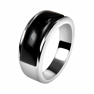 Ring Cat Eye Black