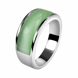 Ring Cat Eye Green