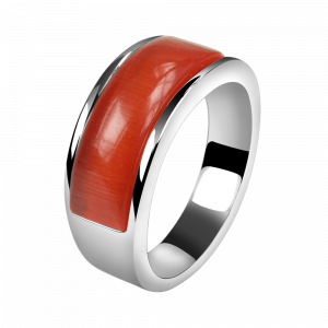 Ring Cat Eye Red