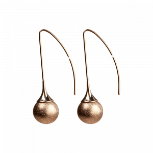 Ohrring Fortuna Rosé Diamantiert