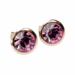 Ohrringe Crystal Rosa Rosé