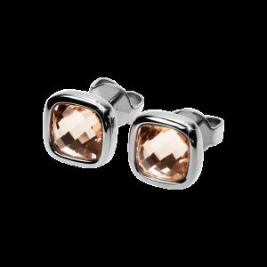 Ohrringe Facettes Light Peach