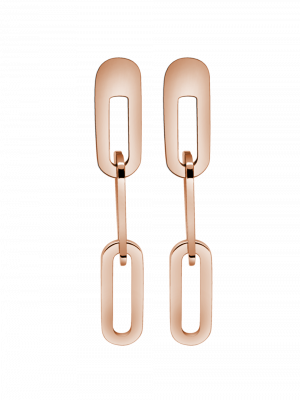 Ohrringe  Big-Link Rosé