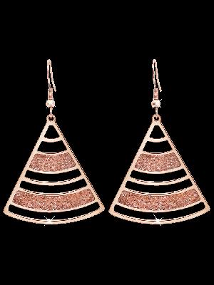 Ohrringe Unit Peach Rosé