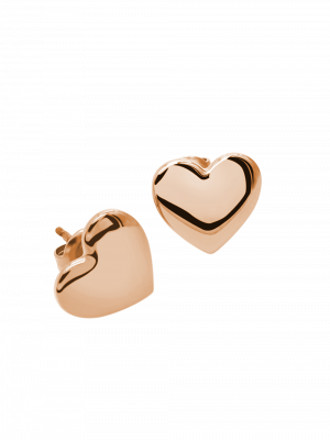 Ohrringe Heartbead Rosé