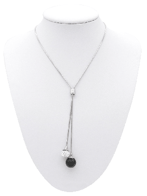 Y-Collier Crystal Onyx 71 cm