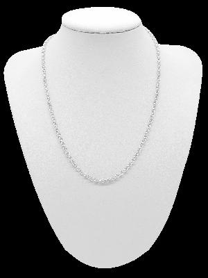925er Sterling Silber Kette per cm