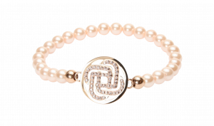 Armband Glamour Power Pearl Rosé- diverse Längen