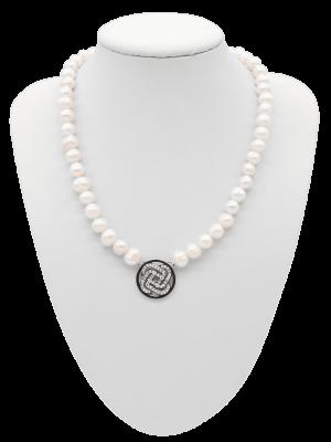 Collier Glamour Power Pearl - diverse Längen
