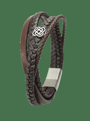 Armband Powerful braun - diverse Längen