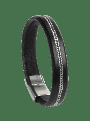 Armband Henry schwarz- diverse Längen