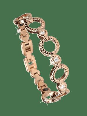 Armband Circle Magnet Rosé- diverse Längen