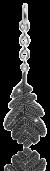 dkCollectors Oak Leaf
