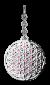 dkCollectors Blume des Lebens rosa