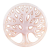 deCoin Plate Pink Tree