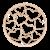 deCoin Ornament Heart Roségold